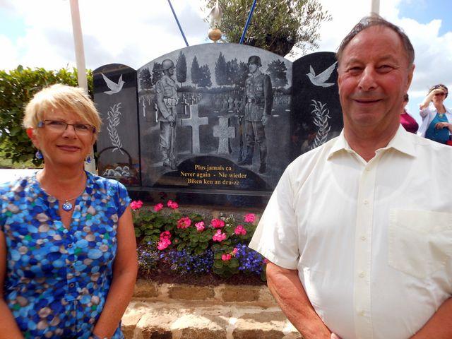 Commémoration Bavarois à Plabennec août (1)