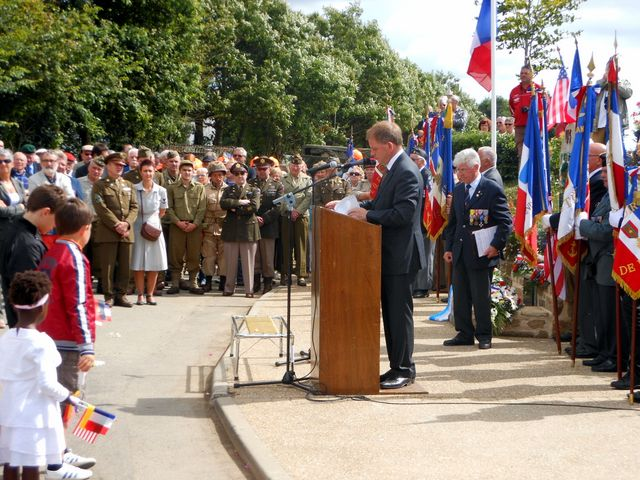 Commémoration Bavarois à Plabennec août (3)