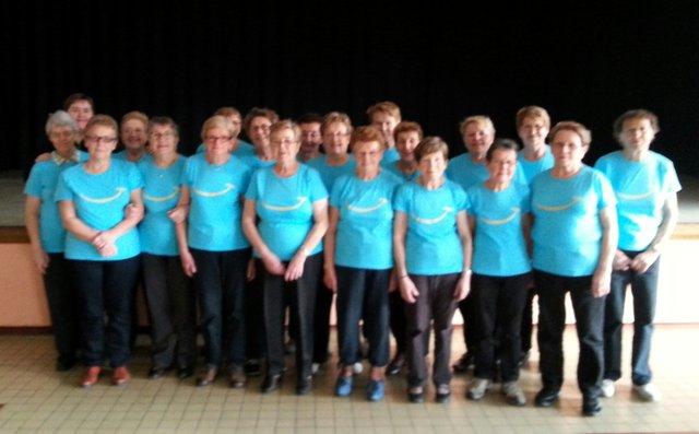 Le groupe de Gym Seniors de PLABENNEC