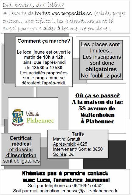 Programme vacances scolaire jeunesse Plabennec (4)