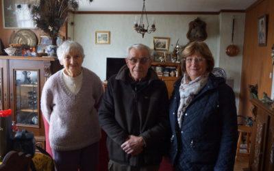 Âgé de 96 ans, Jean-Louis Labous est le doyen de Plabennec.