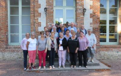 Direction Argueil , en Normandie, pour le voyage 2019 du CCAS de Plabennec