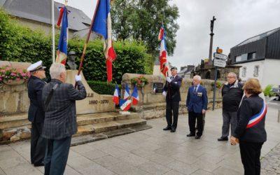 Cérémonie du 80ème anniversaire de l'Appel historique du général de Gaulle du 18 juin 1940