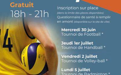 Mix & sport : des activités gratuites pour les 13-17 ans du 30 juin au 6 juillet 2021