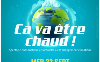 Semaine du développement durable du Pays des Abers : un spectacle gratuit  au Champ de Foire sur le changement climatique